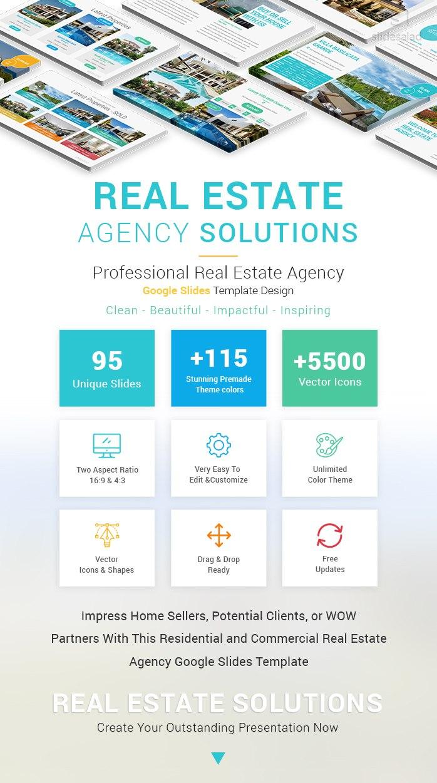 Real Estate Agency Solutions Google Slides Themes Regarding Real Estate Listing Presentation Template