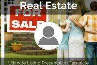 Real Estate Listing Presentation Templatereusable in Real Estate Listing Presentation Template