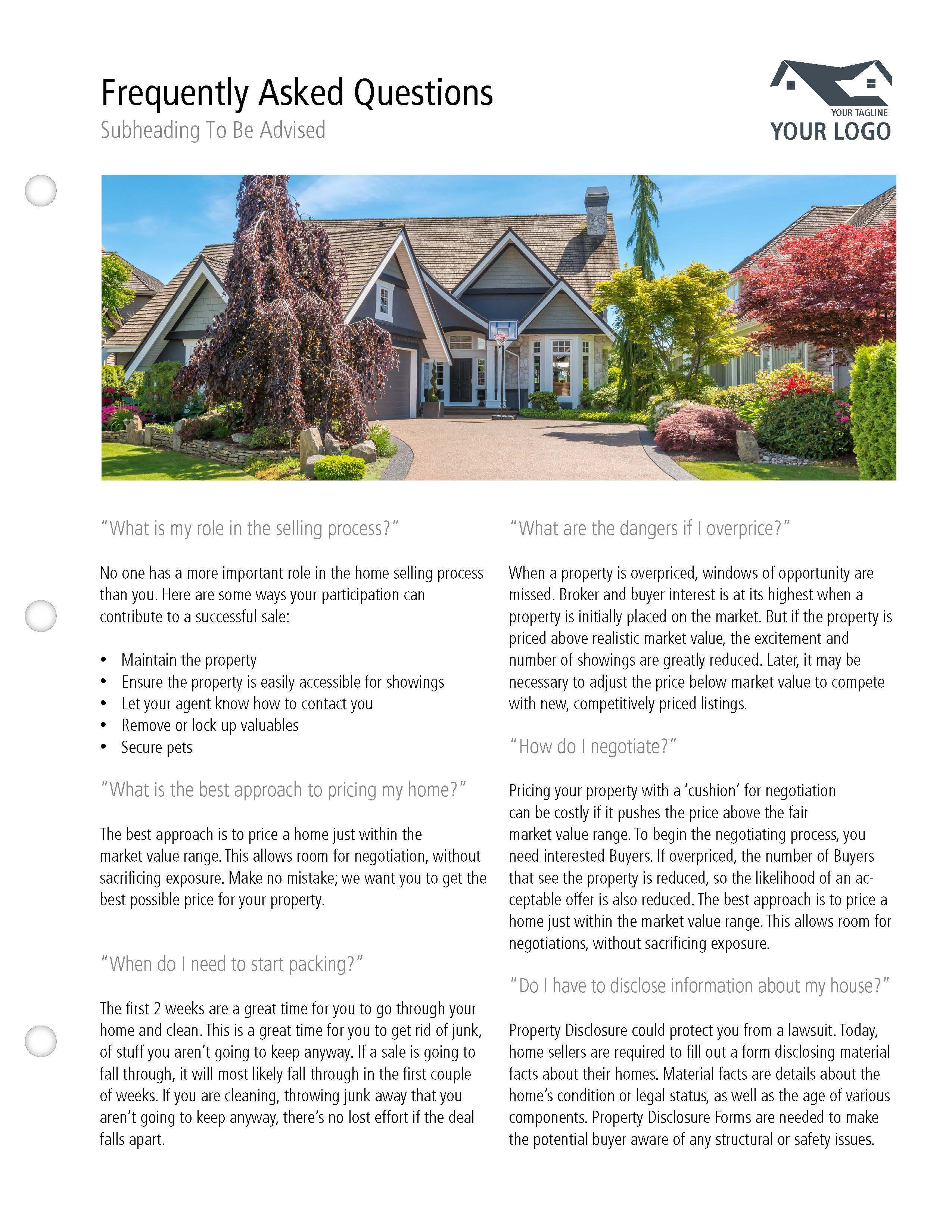 Realtor Listing Presentation Templatelimelight Marketing Pertaining To Real Estate Listing Presentation Template