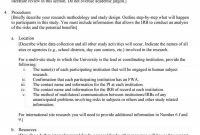 Research Paper Proposal Template How To Write ~ Museumlegs intended for Short Proposal Template