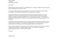 Resignation Letter  Monster regarding Draft Letter Of Resignation Template