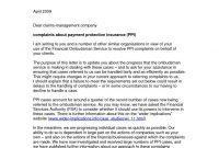 Sample Appeal Letter For Health Insurance Denial  Letter inside Ppi Claim Form Template Letter