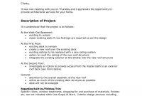 Sample Interior Design Proposal  Falcoifreezerco in Interior Design Proposal Template