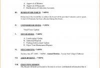 Sample Meeting Agenda  Bookletemplate throughout Consent Agenda Template