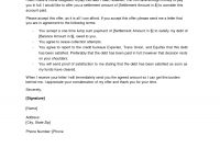 Sample Offer Letter To Creditor Credit Repair Secrets Exposed Here regarding Dispute Letter To Creditor Template