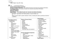 Soap Notes Format In Emr for History Of Present Illness Template