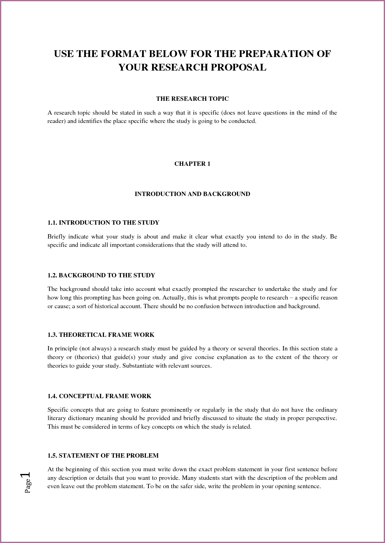 Template Ideas Apa Format Research Paper Proposal Sample Within Research Proposal Outline Template
