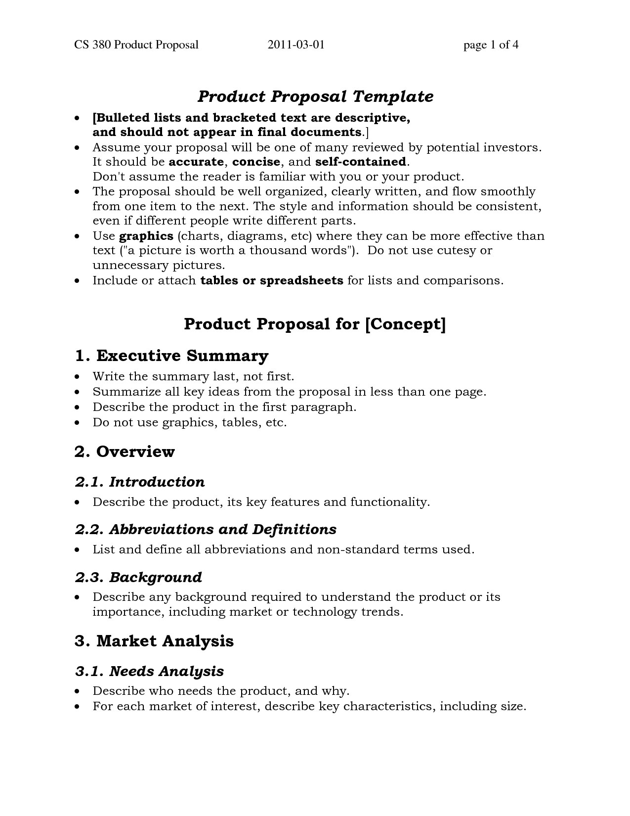 Template Ideas One Page Proposal Sufficient Then Project Unusual Throughout One Page Proposal Template