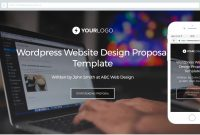 This Free Website Design Proposal Template Won M Of Business for Website Design Proposal Template