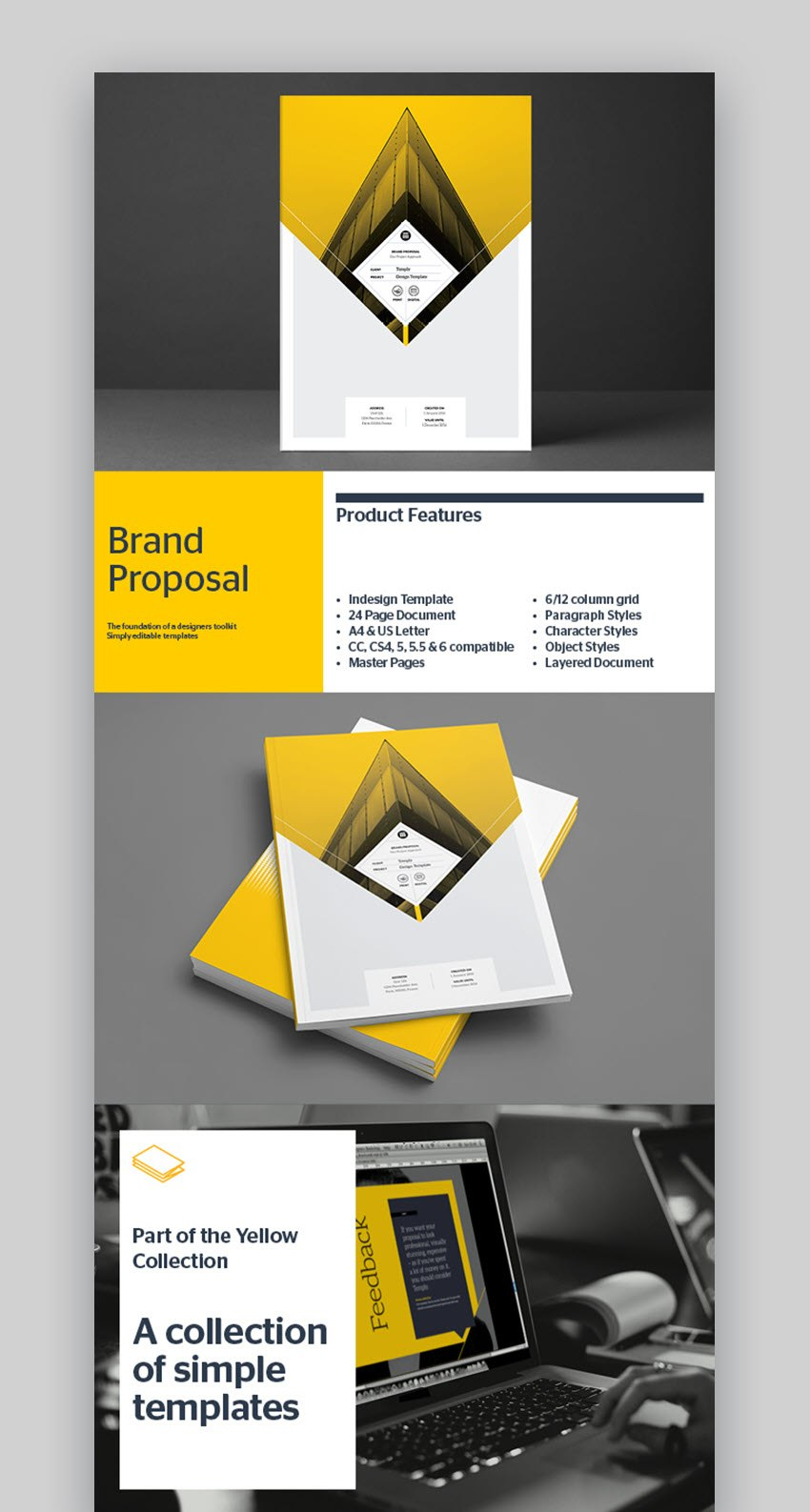 Top Graphic Design Branding Project Proposal Templates for Graphic Design Proposal Template