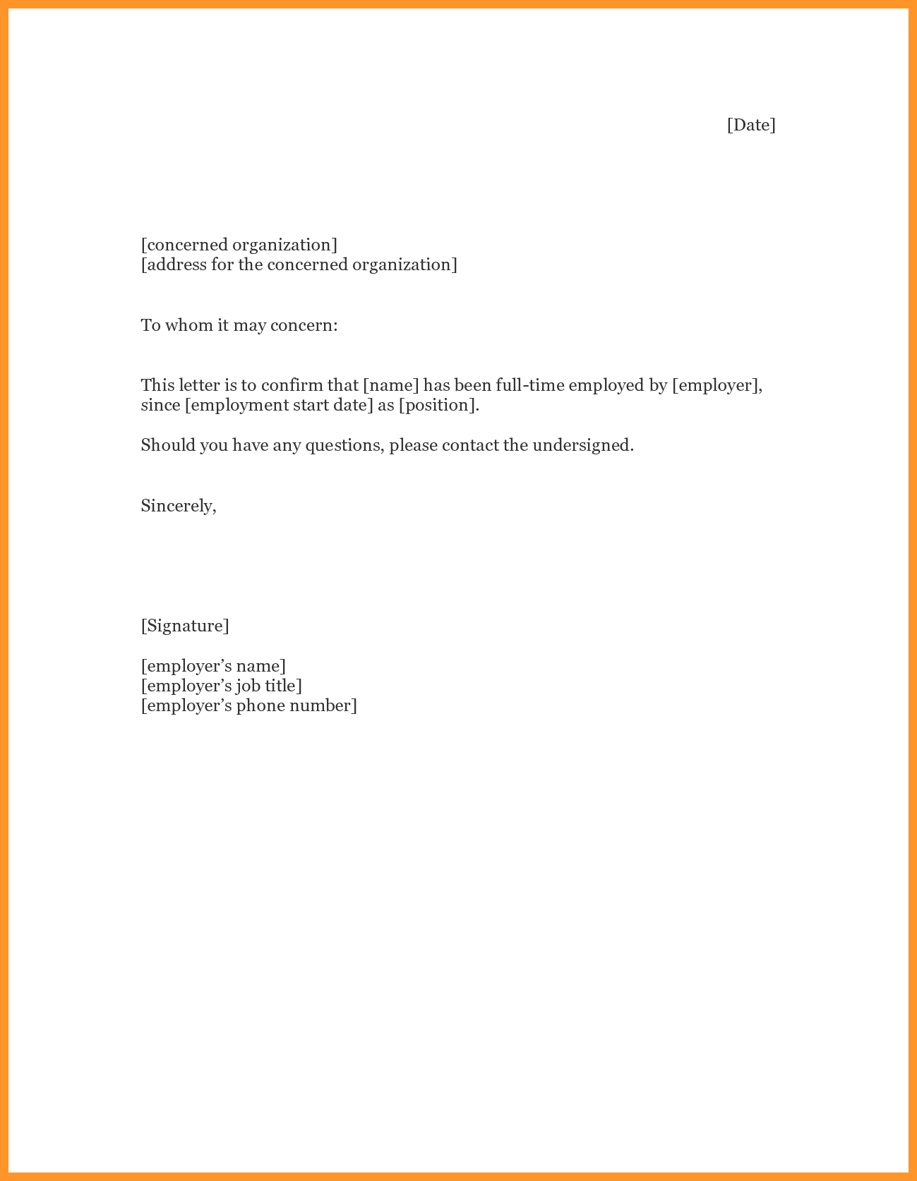 Unemployment Verification Letter  Loginnelkriver Pertaining To Proof Of Unemployment Letter Template