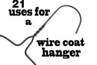 Uses For A Wire Coat Hanger  Great Ideas  Wire Coat Hangers pertaining to Wire Hanger Letter Template