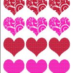 Printable Valentine Heart Template