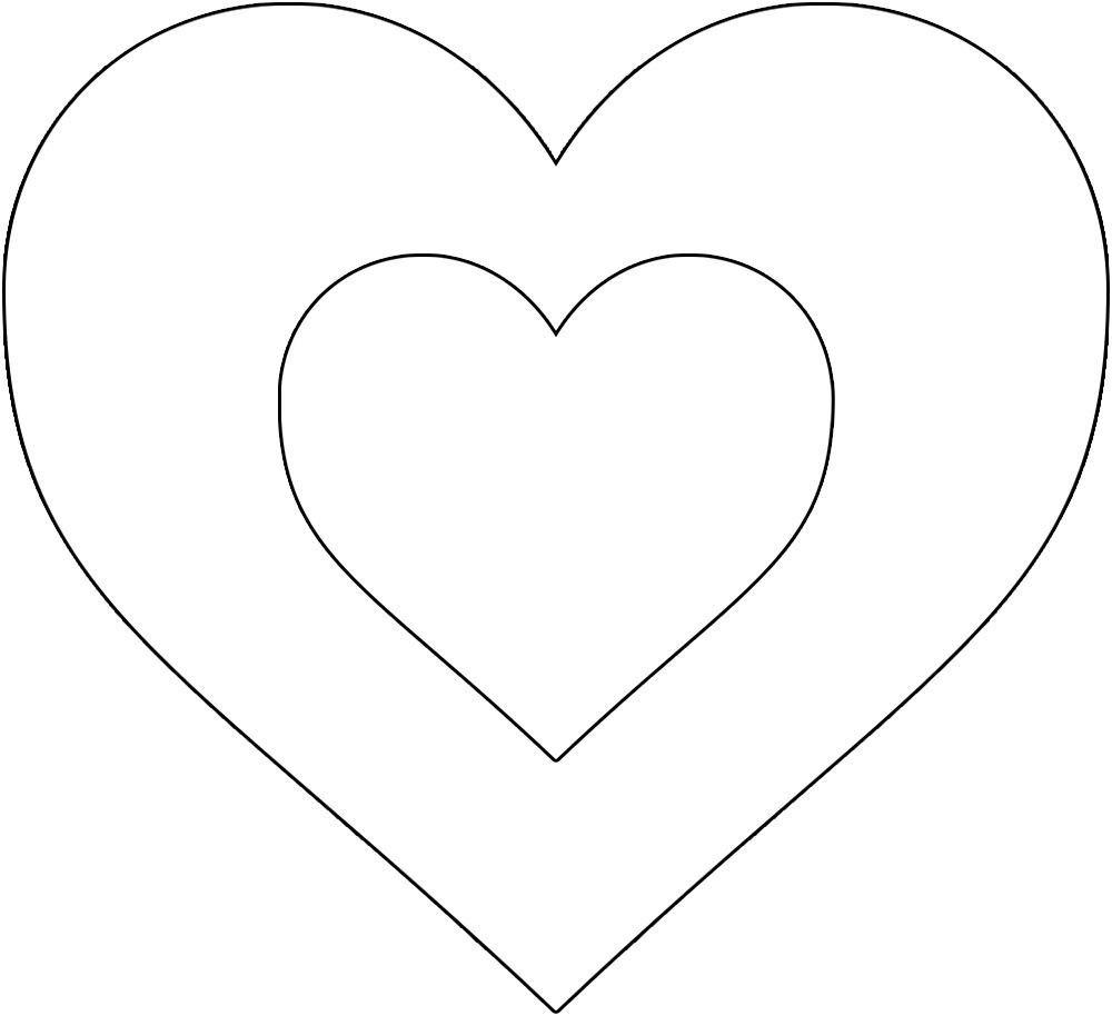 Best  Free Printable Heart Template – Skillofking With Regard To Free Printable Heart Templates
