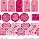 Best Free Valentine Printables  Valentine's Day Fun  A in Free Printable Valentine Templates