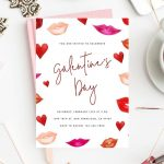 Galentine's Day Invite Template Printable Galentines Party throughout Valentine Party Invitation Template