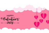 Happy Valentine's Day Card Template Logo In Valentine's Day Card Printable Templates
