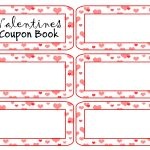 Payment Coupon Book Template Ideas Valentines Day Free for Free Printable Valentine Templates