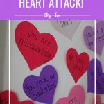 Valentine Heart Attack  Awesome Activities  Valentine in Valentine Heart Attack Idea With Free Printable Heart Template