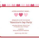 Valentine Party Invitation Template