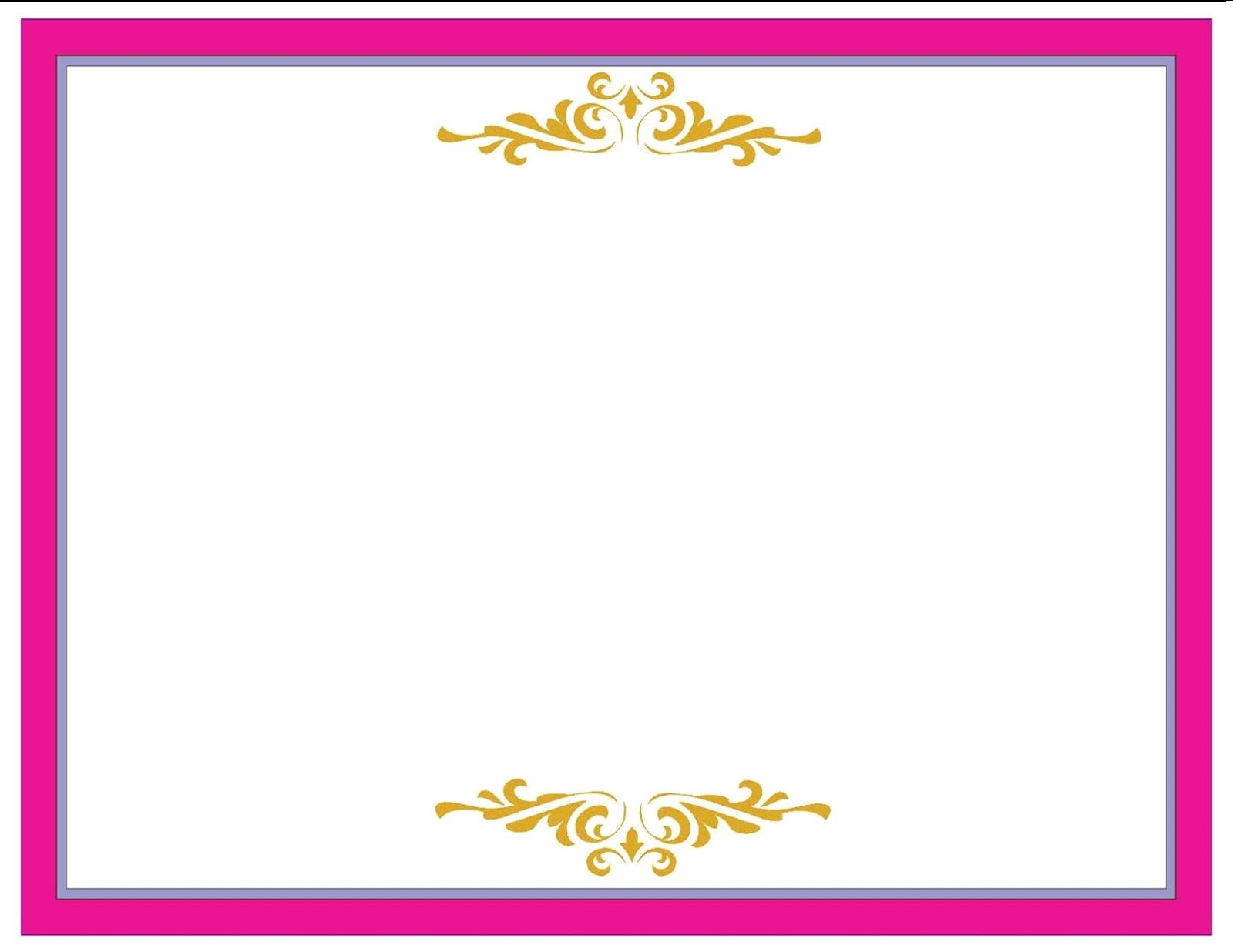 A Collection Of Free Certificate Borders And Templates Inside Pageant Certificate Template