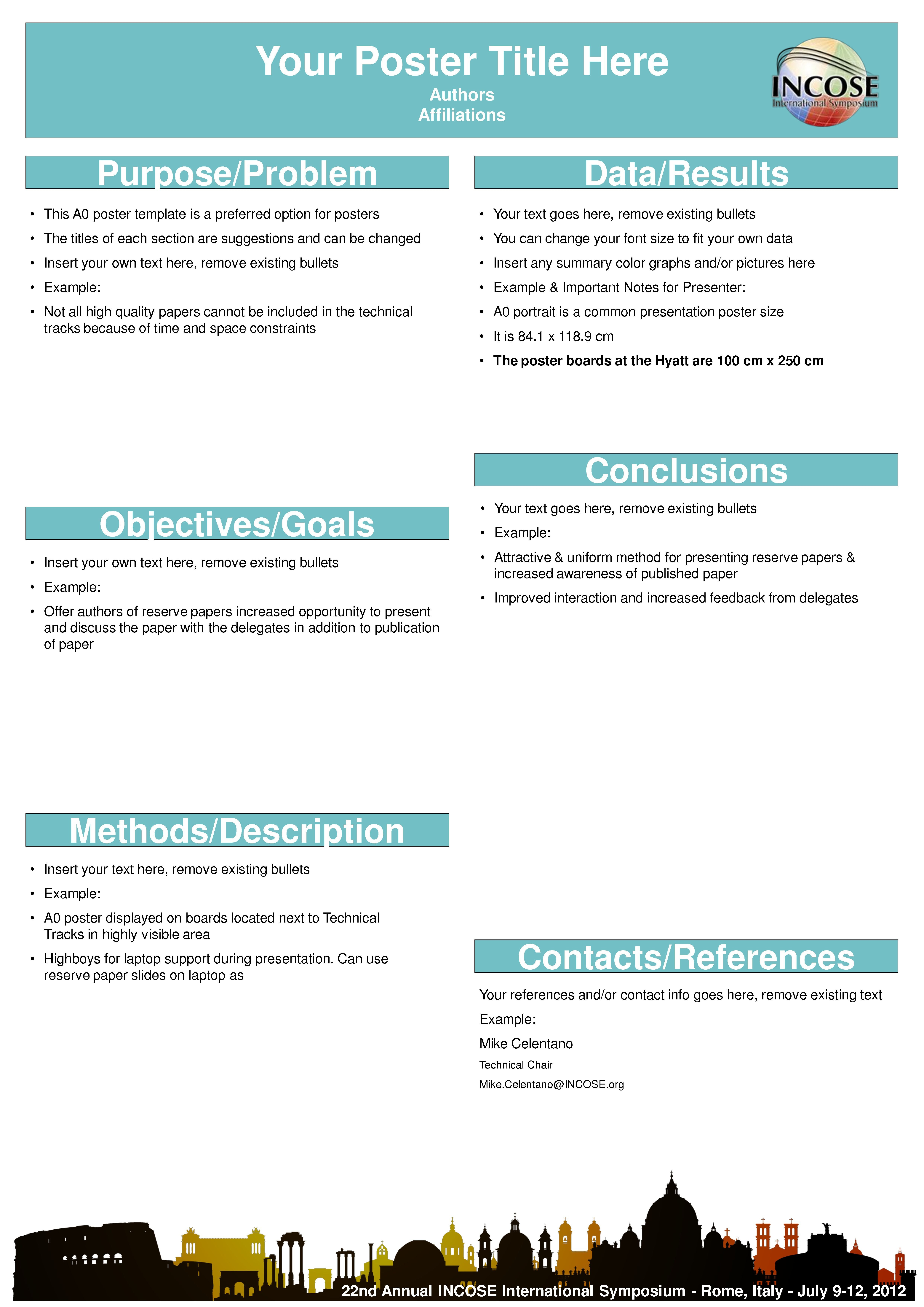 A Poster Templates Unique Scientific Poster Template Free With Regard To Powerpoint Poster Template A0