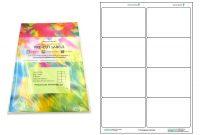 A Precut Multi Matte White Paper Labels X  Labels Per Sheets pertaining to 3X8 Label Template