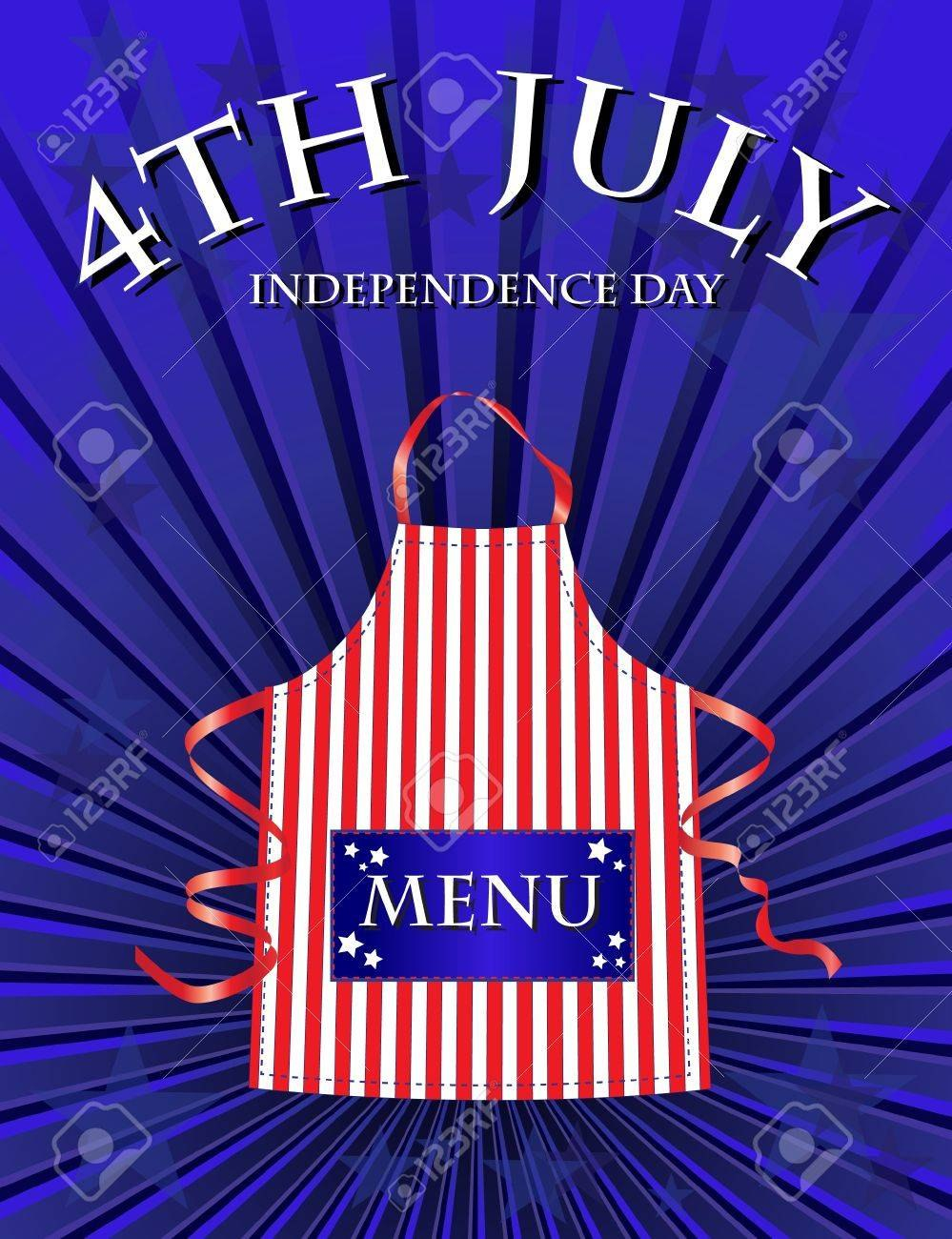 A Th July Independence Day Menu Template Regarding 4Th Of July Menu Template