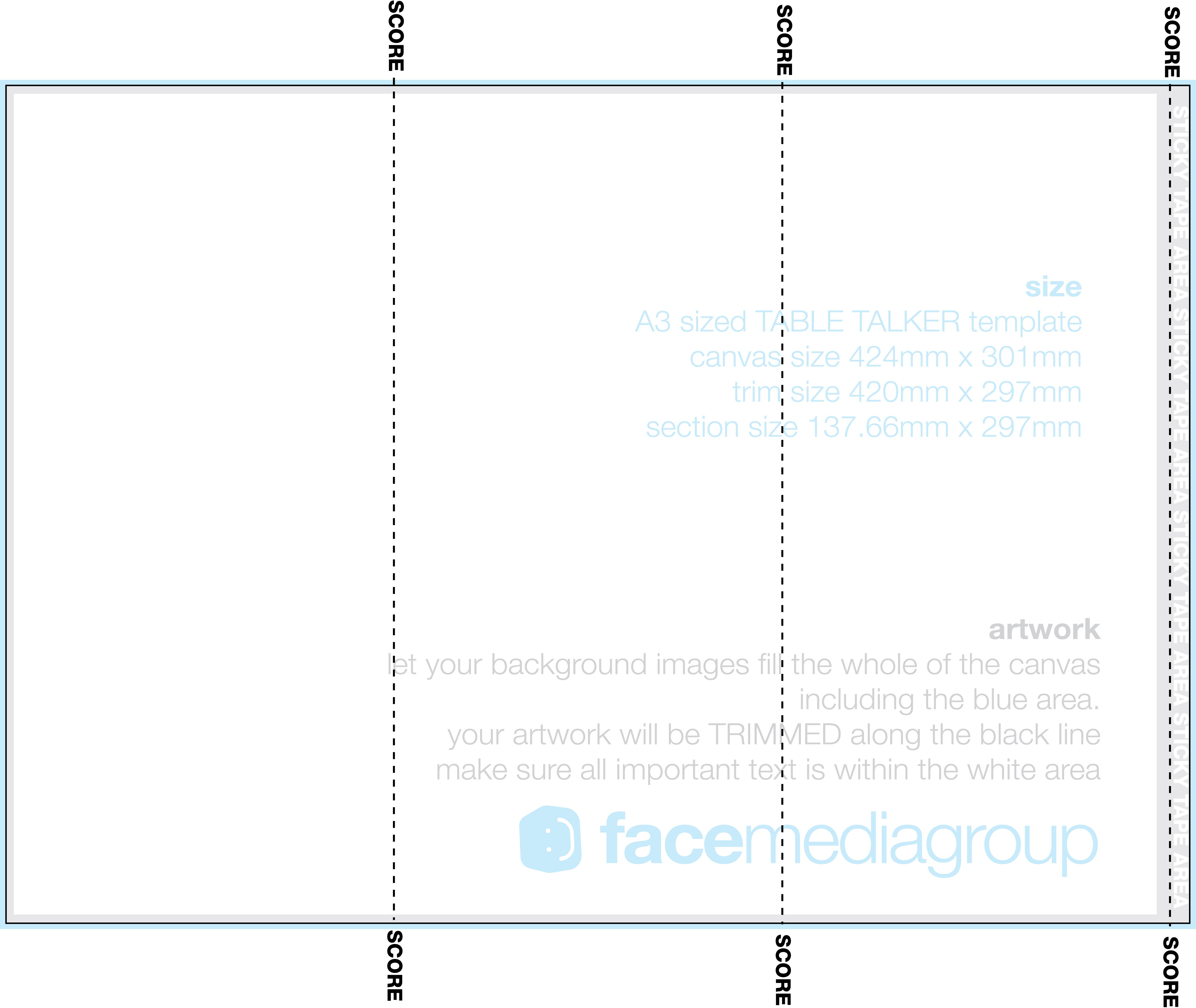 A Trifold Table Talker Template  Photo Page  Everystockphoto In Tri Fold Tent Card Template