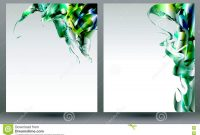 Abstract Blank Backgrounds Templates Stock Vector  Illustration Of regarding Blank Templates For Flyers