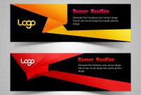 Abstract Colorful Banner Design  Web Banner Template For Free Download with regard to Website Banner Design Templates