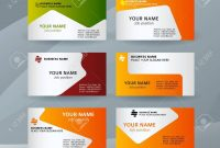 Abstract Professional And Designer Business Card Template Or intended for Professional Name Card Template