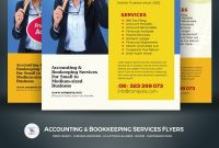 Accounting  Bookkeeping Services Flyers Corporate Identity Template regarding Accounting Flyer Templates