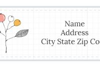 Address Label Templates in Shipping Label Template Online