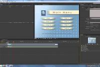Adobe Encore Cs Tutorial Creating Menus And Timelines  Youtube throughout Encore Cs6 Menu Templates Free