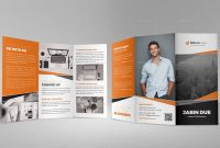 Adobe Indesign Brochure Templates Free  Radiodignidad with Tri Fold Brochure Template Indesign Free Download