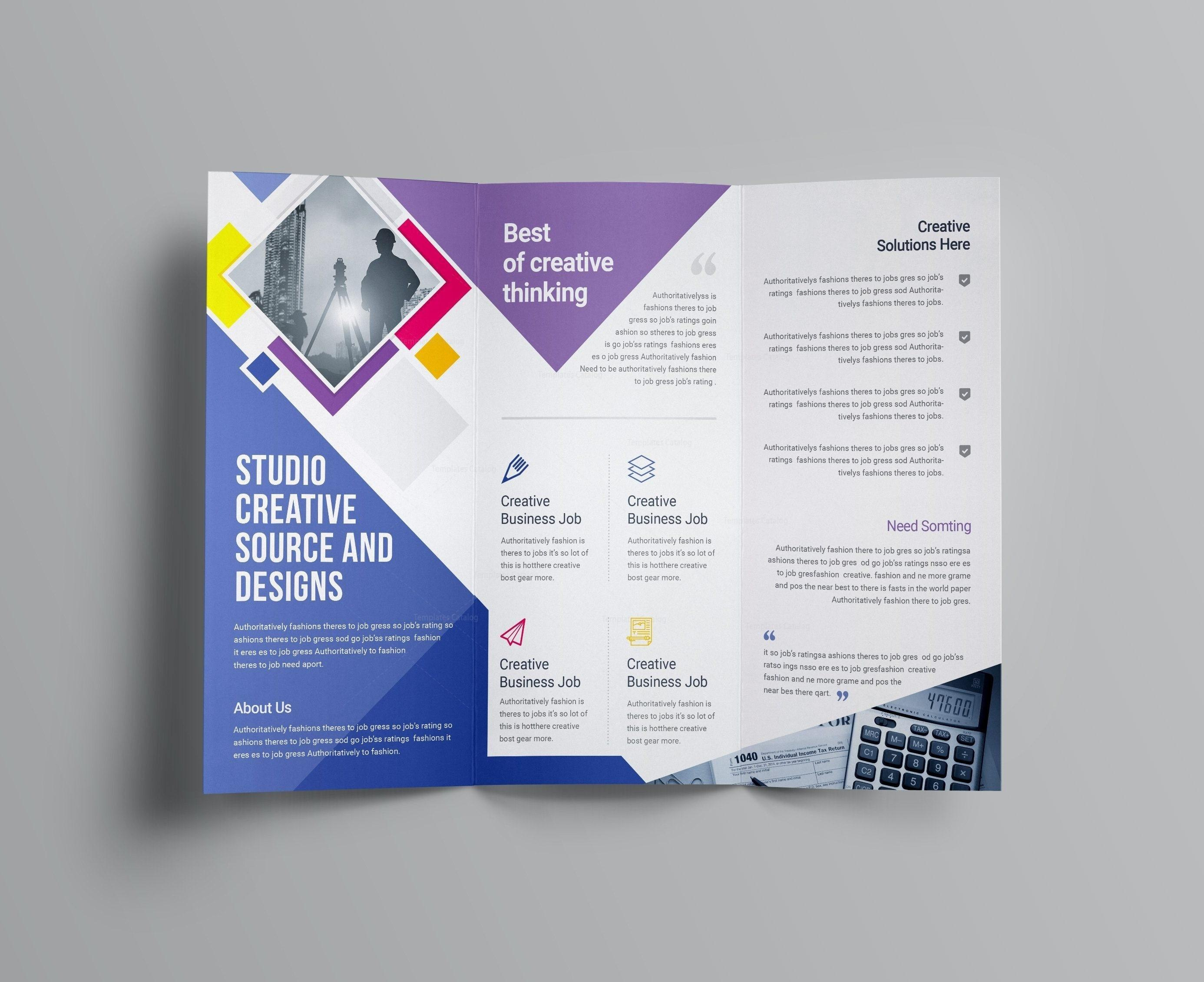 Adobe Indesign Brochure Templates Tips Com In Free Template Throughout Adobe Indesign Brochure Templates