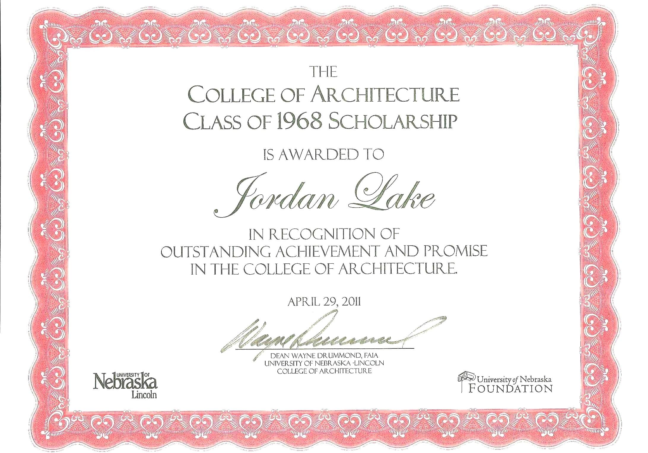 Adoption Certificate Templates Scholarship Template Word With Inside Scholarship Certificate Template