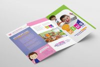 After School Care Trifold Brochure Template In Psd Ai  Vector throughout Tri Fold School Brochure Template