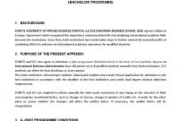 Agreement Joint Programme Dd Ece Fontys Updated July with Erasmus Bilateral Agreement Template