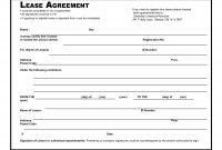 Agreement Templates Efficient Template Example Of Blank Lease with Ranch Lease Agreement Template