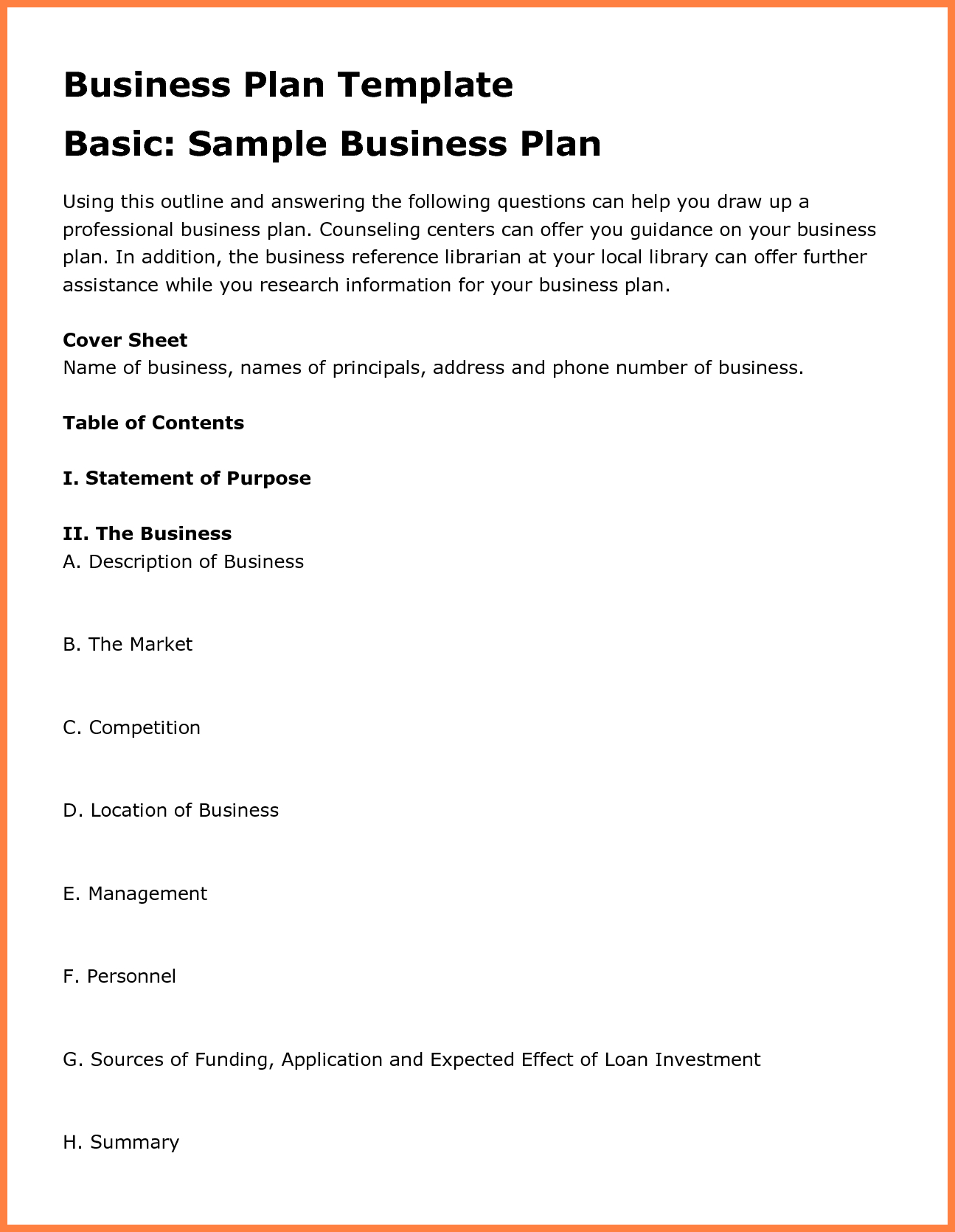 Agriculture Business Plan Template Free For And Cattle Farming Within Agriculture Business Plan Template Free