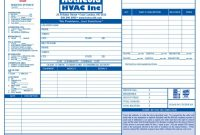 Air Conditioning Invoice Template Heating Form Samples Wilson throughout Air Conditioning Invoice Template