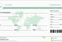Airline Ticket Invitation Template Free Cute Plane Ticket Template for Plane Ticket Template Word