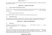 Alberta Cash Farm Lease Agreement intended for Farm Land Lease Agreement Template