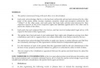 Alberta Cohabitation Agreement  Legal Forms And Business Templates regarding Free Cohabitation Agreement Template