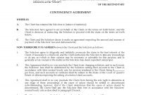 Alberta Contingency Fee Agreement For Lawyer  Legal Forms And in Contingency Fee Agreement Template
