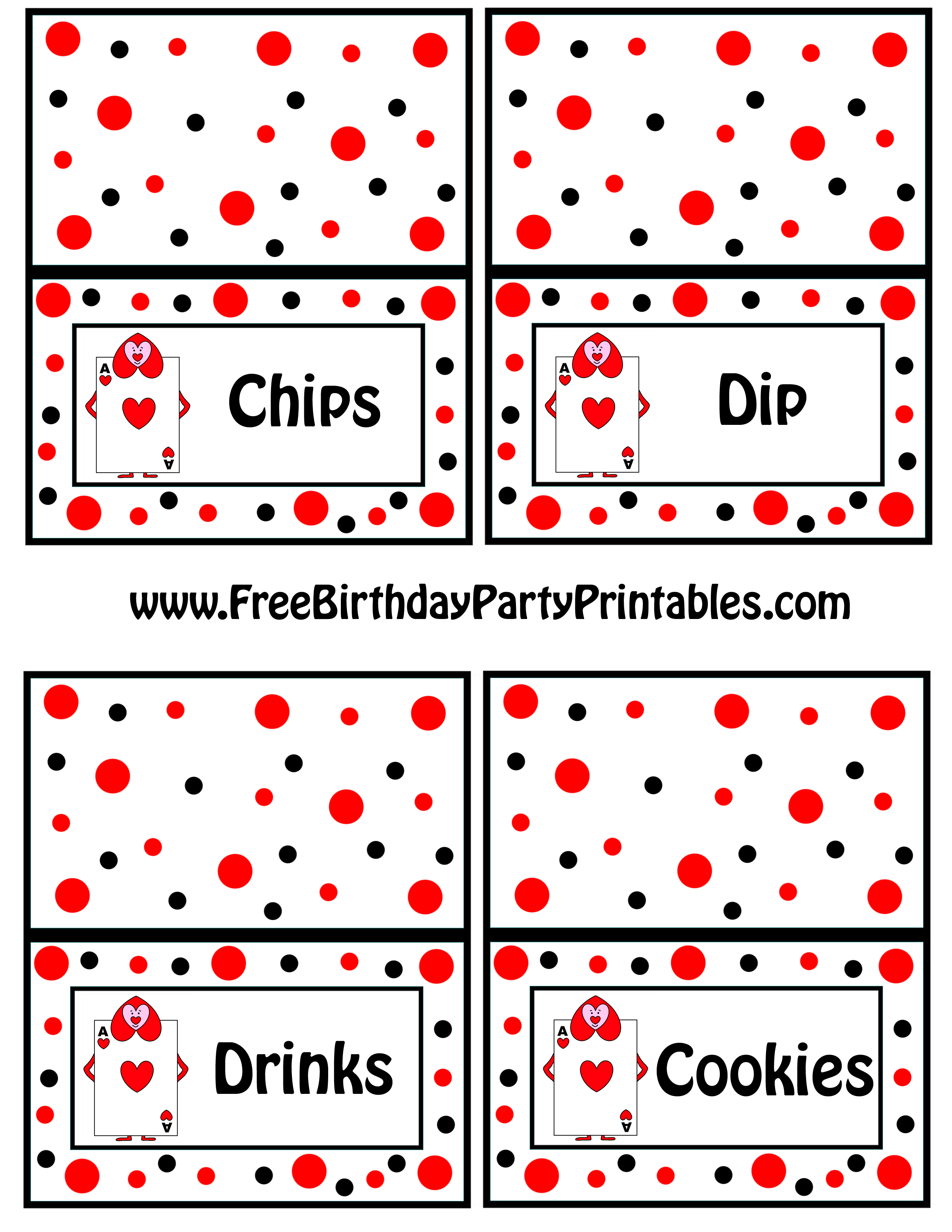 Alice In Wonderland Card Soldiers Printable Cutout With Free Printable Playing Cards Template