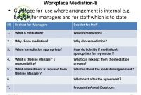 Alternative Dispute Resolutionadrworkplace Mediation Practice throughout Workplace Mediation Agreement Template