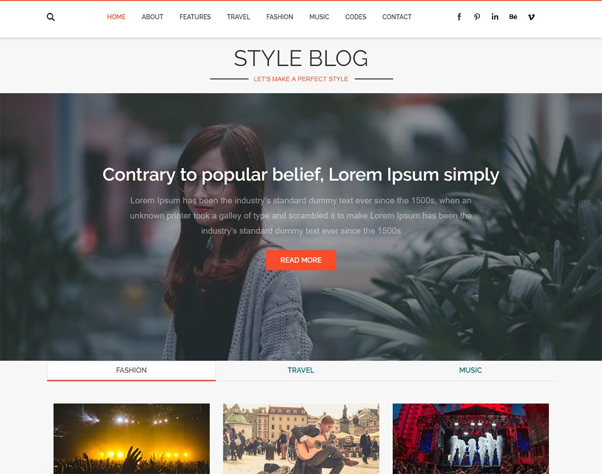 Amazing Free Responsive Blogger Templates For   Uicookies Pertaining To Free Blogger Templates For Business